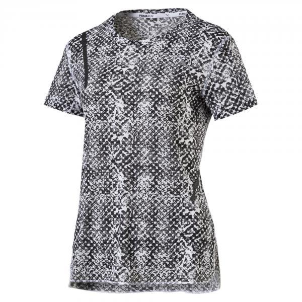 Puma T-shirt Graphic S/s  Donna Bianco