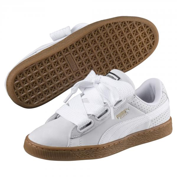 Puma Shoes Basket Heart Perf GUM Woman