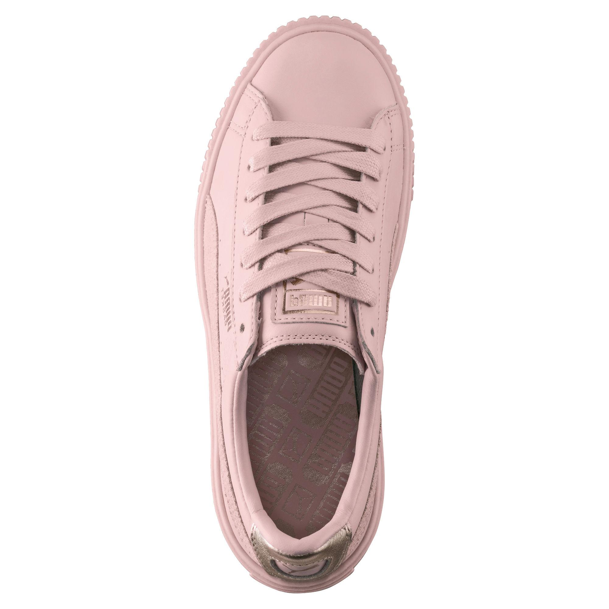new arrival a505e 3d729 Puma Shoes Basket Platform Euphoria RG Woman