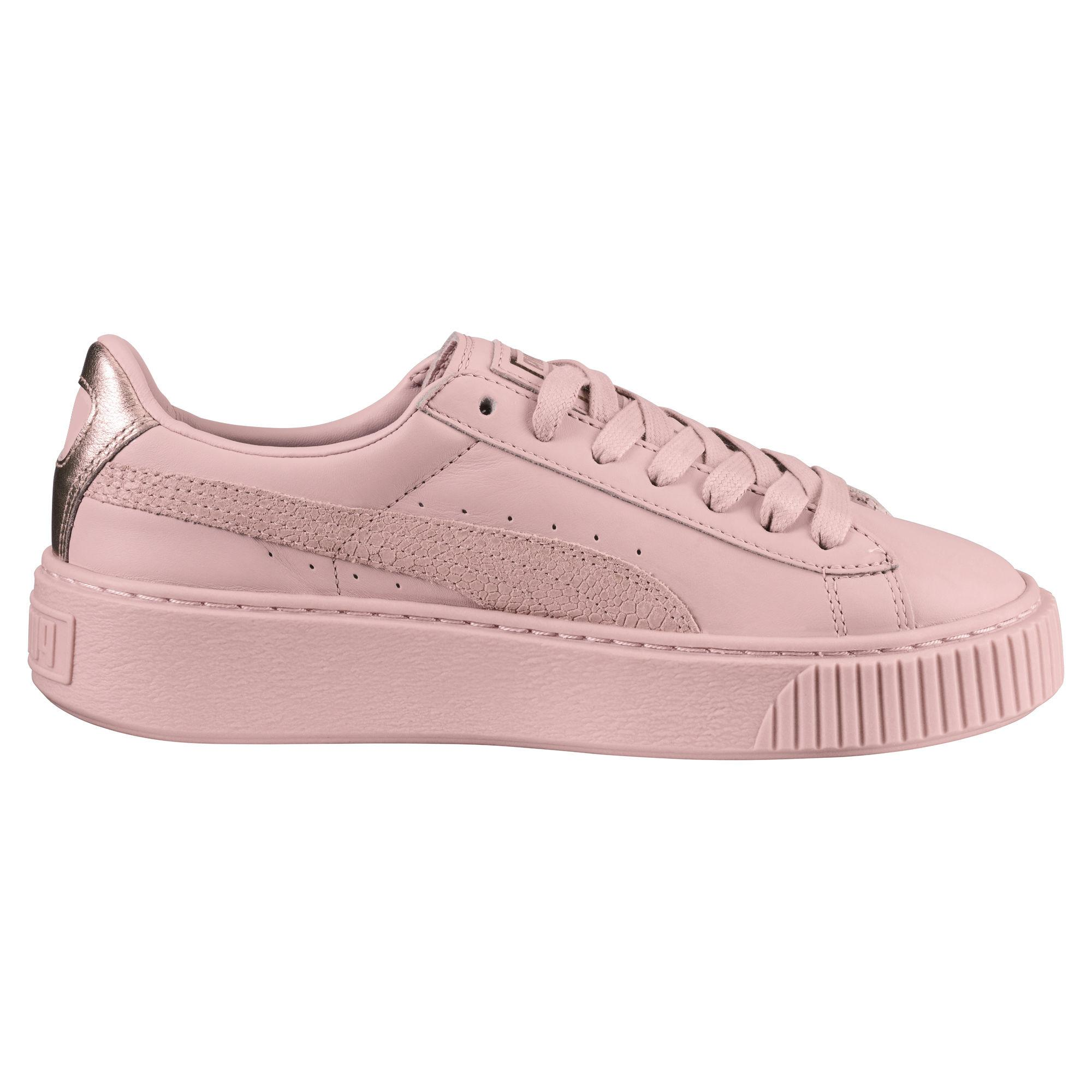new arrival 88731 ac87b Puma Shoes Basket Platform Euphoria RG Woman