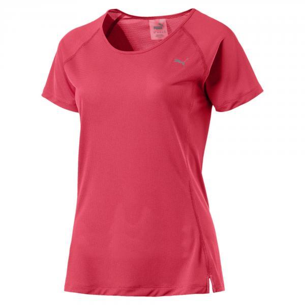 Puma T-shirt Core-run S/s  Donna Rosa