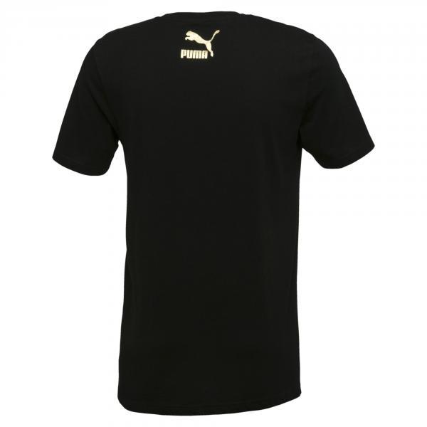 Puma T-shirt Suede Nero Tifoshop