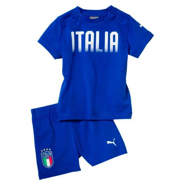 Baby Set Italia Azzurro Italia FIGC Store