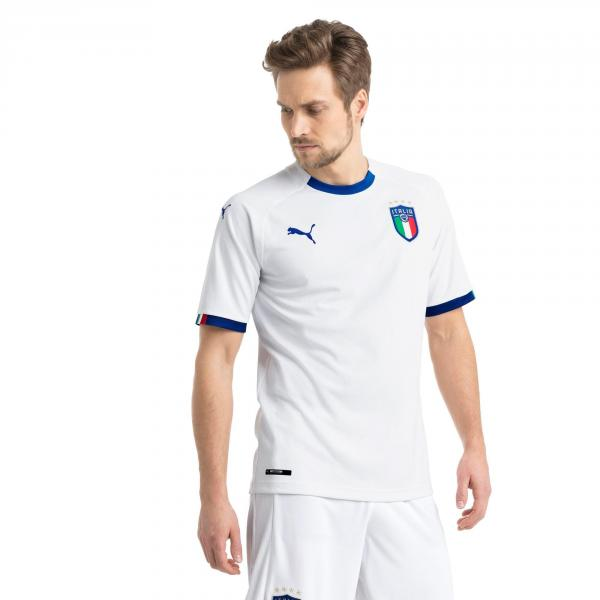 Figc Italia Away Shirt Replica Ss PUMA WHITE-TEAM POWER BLUE FIGC Store