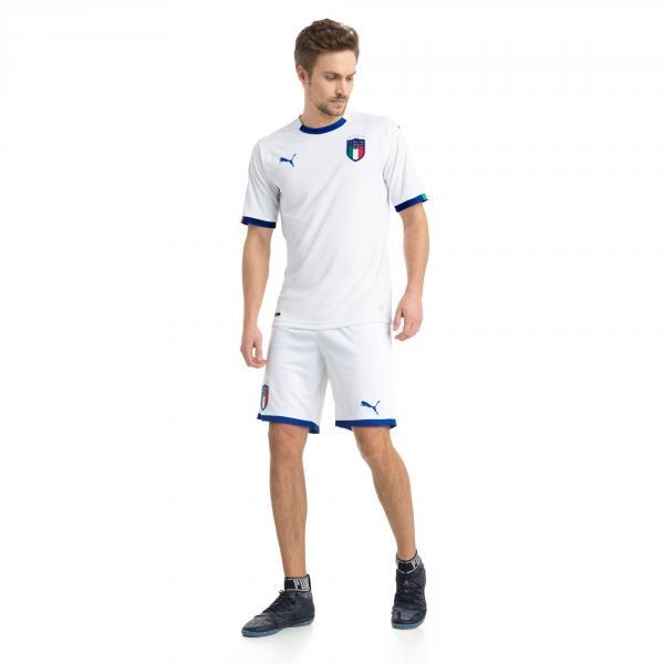 Maglia Replica Away Italia Bianco FIGC Store