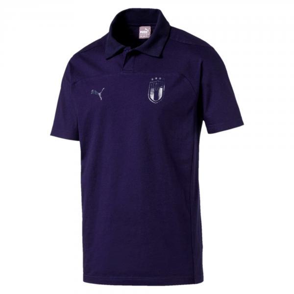 Polo Figc Azzurri Blu FIGC Store