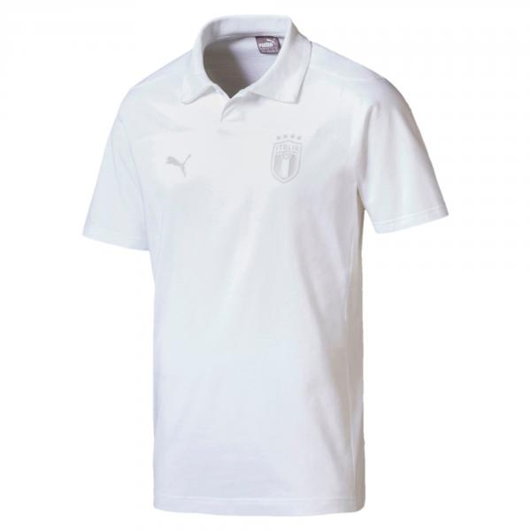 Polo Figc Azzurri Bianco FIGC Store