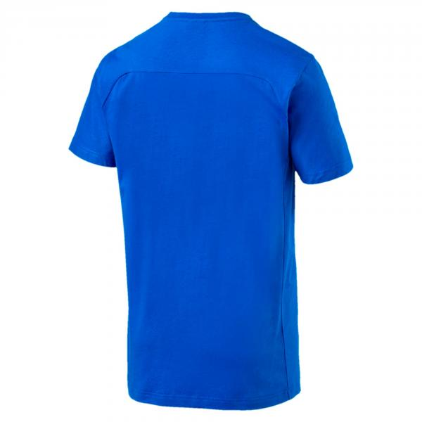 Figc Azzurri Tee TEAM POWER BLUE FIGC Store