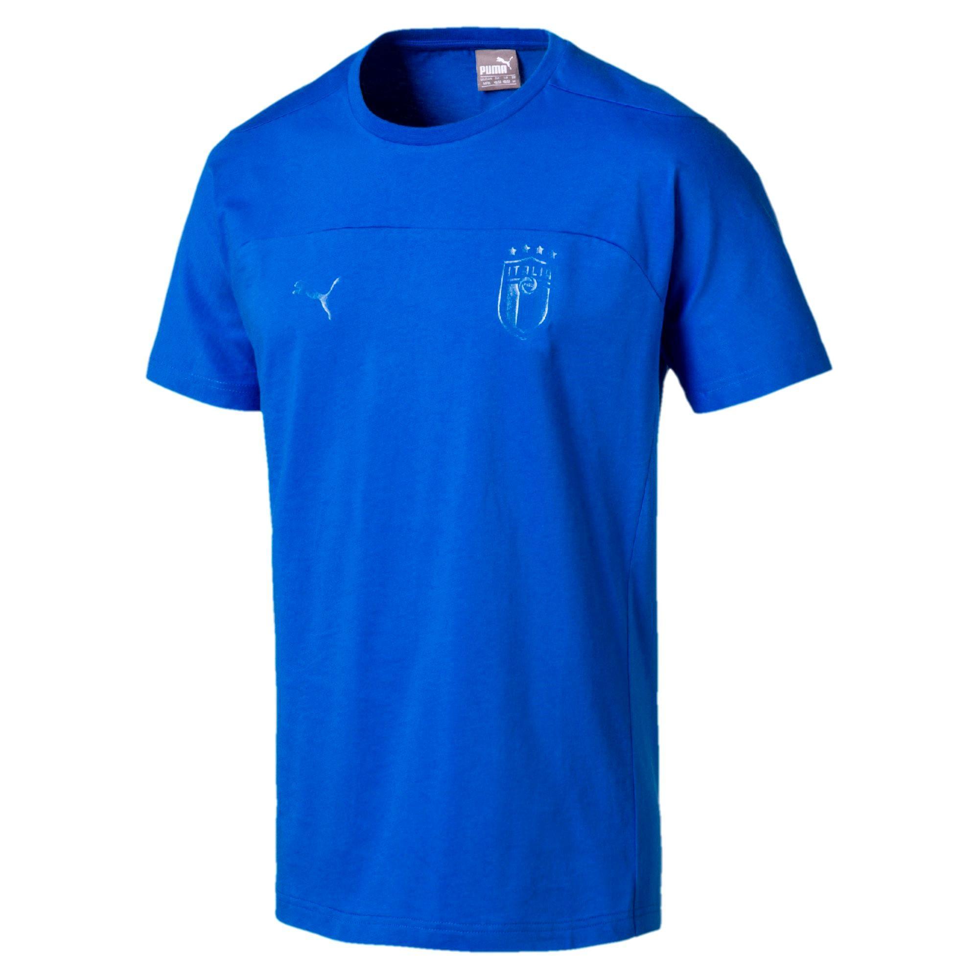 7d43ebaf2a17 Puma T-shirt Figc Azzurri Italy Team Power Blue - Tifoshop.com