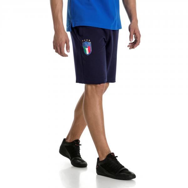 Puma Bermuda Figc Italia Blu Tifoshop