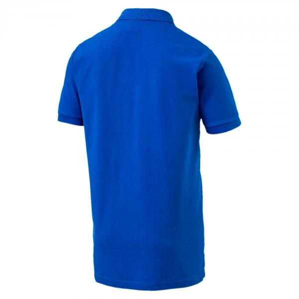 Figc Italia Fanwear Polo TEAM POWER BLUE FIGC Store