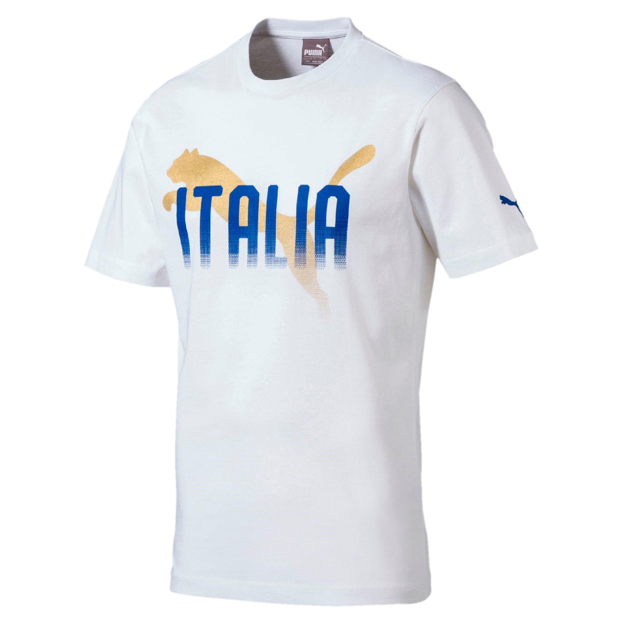 e4fb924c4119 Puma T-shirt Italy Puma White - Tifoshop.com