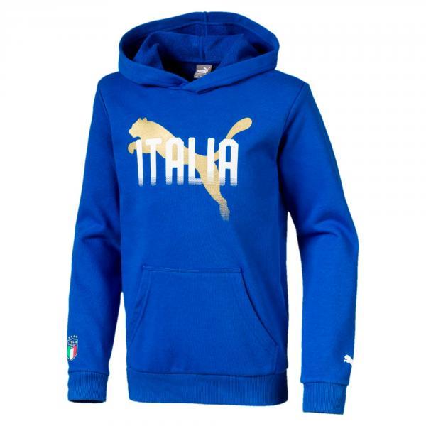 Felpa Italia Junior Azzurro FIGC Store