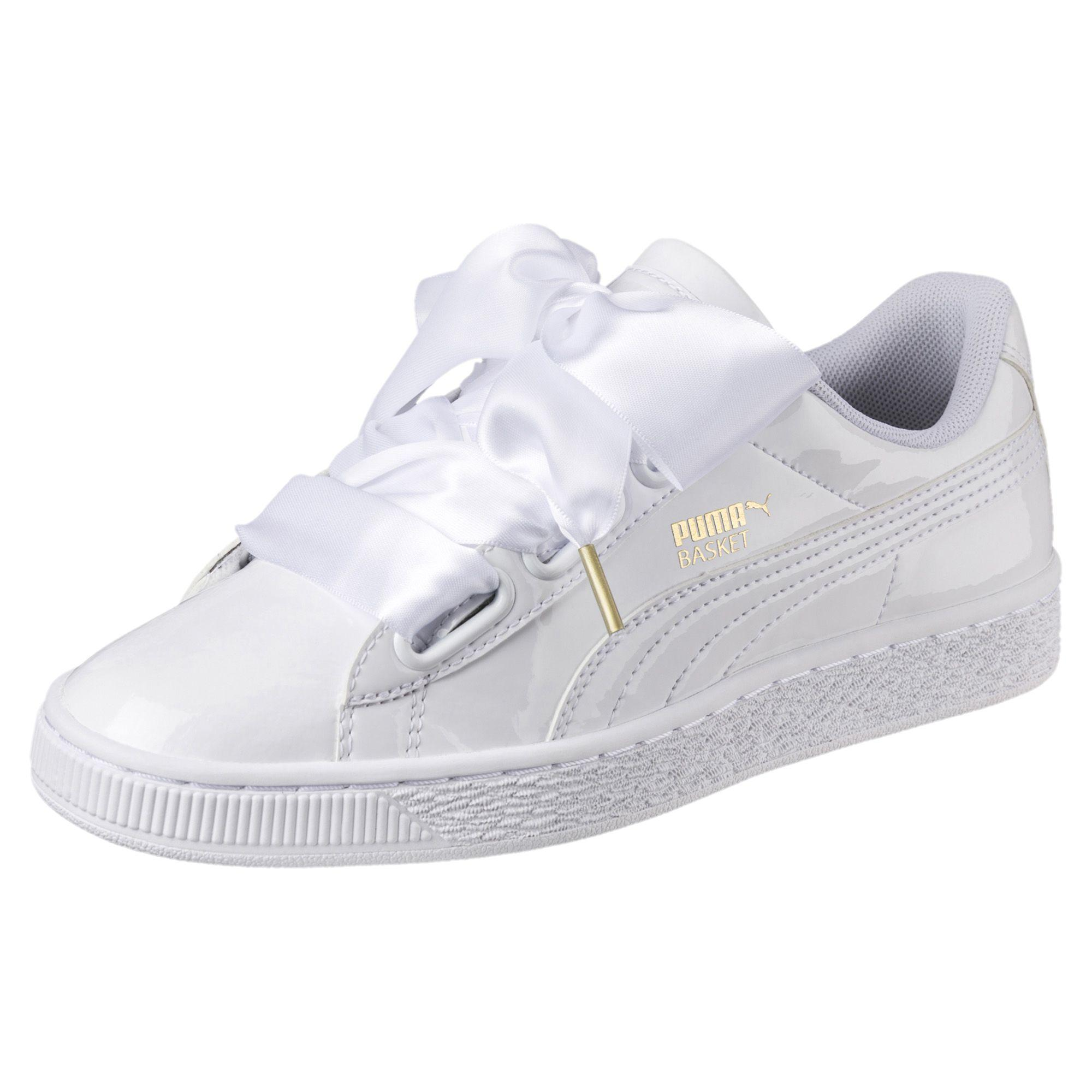 basket puma heart patent wn's