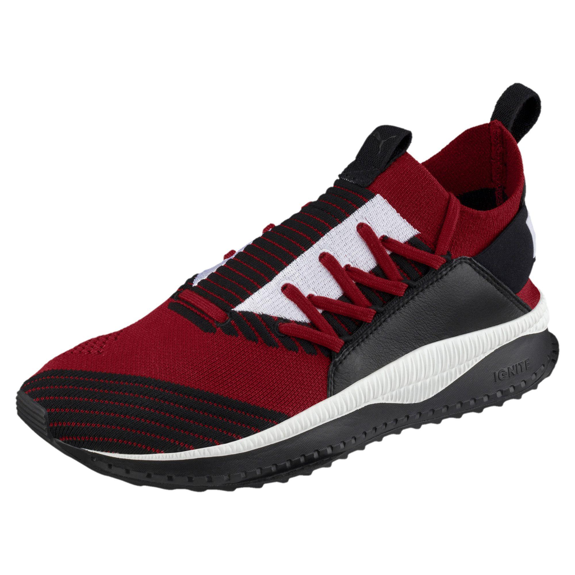 7f68ac43bf6ffe Puma Shoes Tsugi Jun Red Dahlia-puma Black - Tifoshop.com