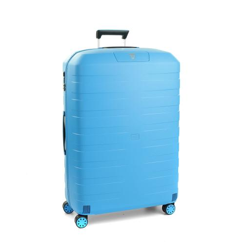 LARGE LUGGAGE  LIGHT BLUE