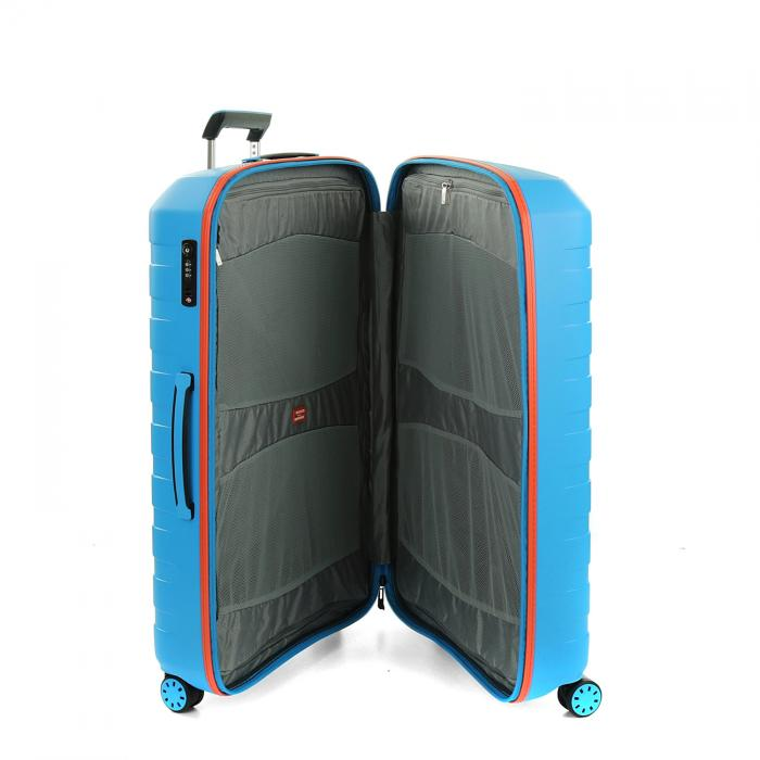 Large Luggage  LIGHT BLUE/ORANGE Roncato
