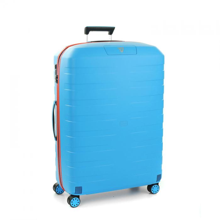 Large Luggage  LIGHT BLUE/ORANGE