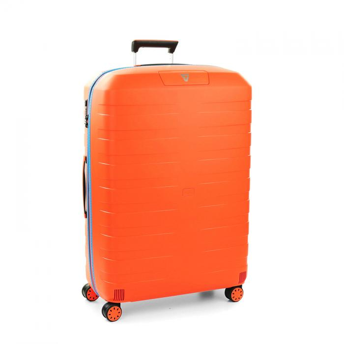Trolley Grande Taille  ORANGE/LIGHT BLUE