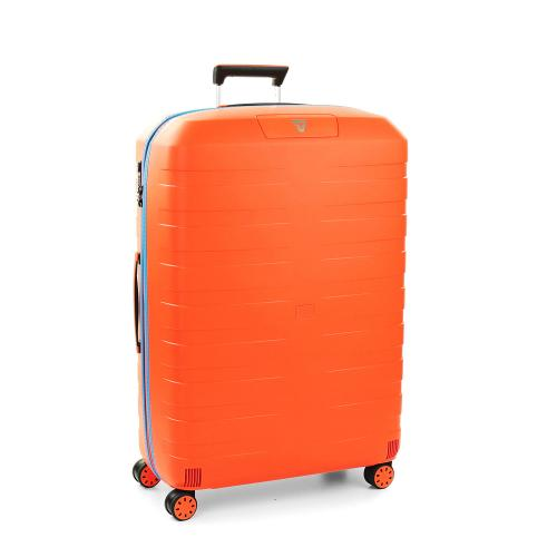 LARGE LUGGAGE  ORANGE/LIGHT BLUE