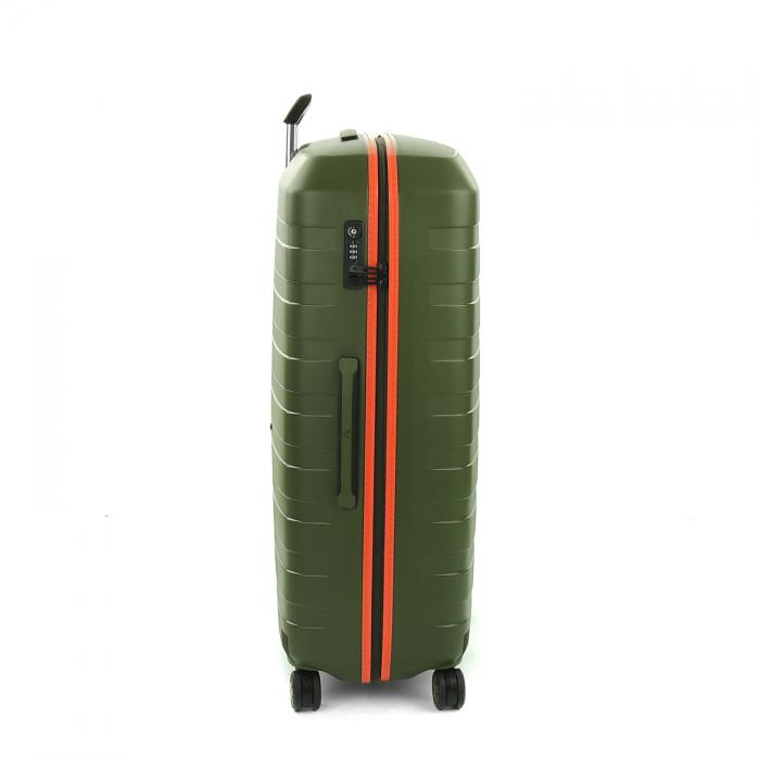 Grosse Koffer  MILITARY GREEN/ORANGE Roncato