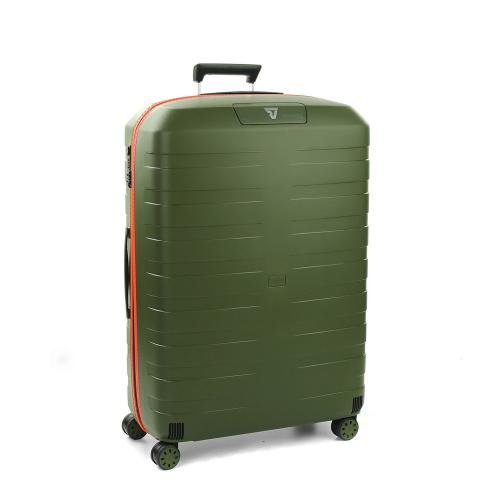 LARGE LUGGAGE  MILITARY GREEN/ORANGE