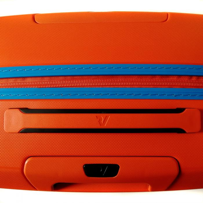 Medium Luggage  ORANGE/LIGHT BLUE Roncato