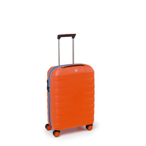 CABIN LUGGAGE  ORANGE/LIGHT BLUE
