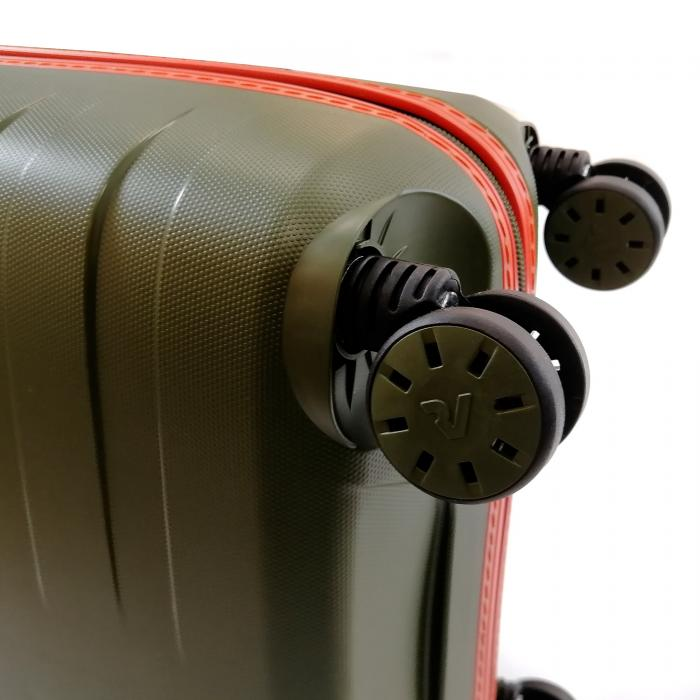 Trolley Cabine  MILITARY GREEN/ORANGE Roncato