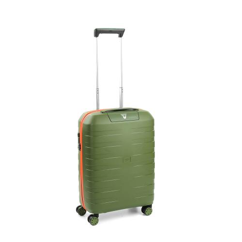 CABIN LUGGAGE  MILITARY GREEN/ORANGE