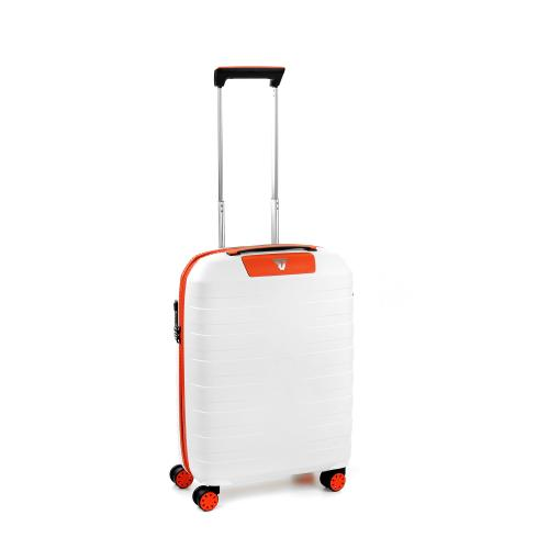 CABIN LUGGAGE  WHITE/ORANGE