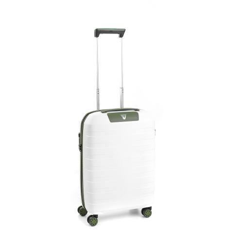 CABIN LUGGAGE  WHITE/MILITARY GREEN