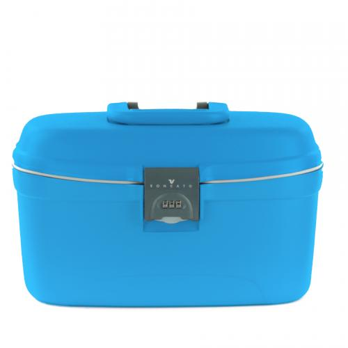 BEAUTY CASE  LIGHT BLU
