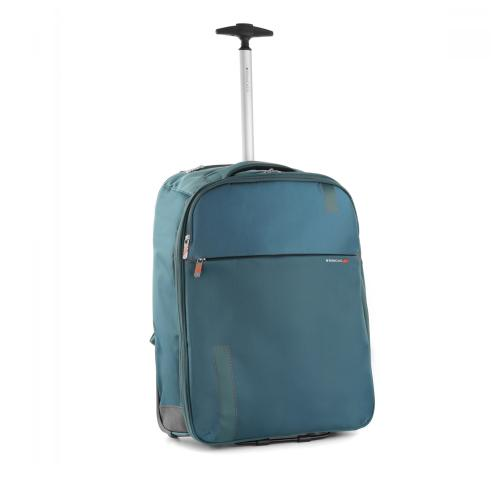 WHEELED BACKPACK  BLUE