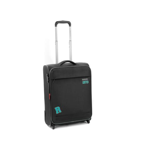 CABIN LUGGAGE  BLACK/AQUA