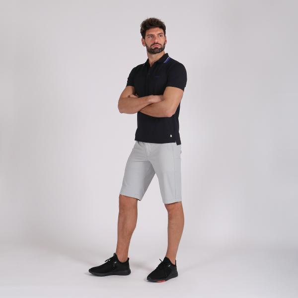 Polo Uomo AFFETTO 59315 Nero Blu Bianco Chervò