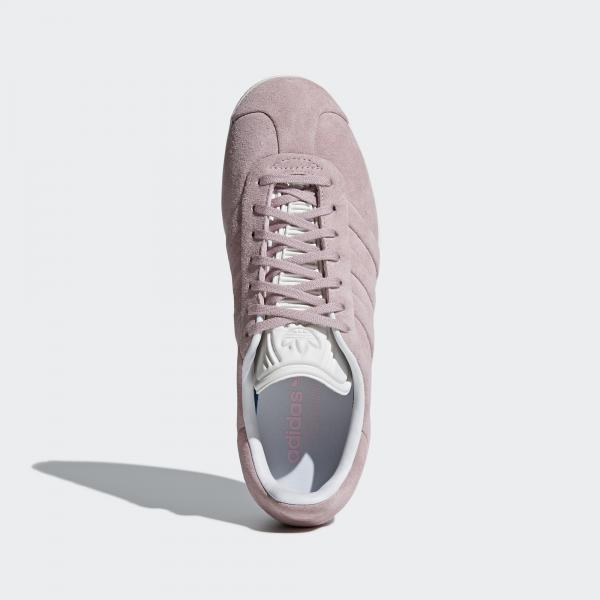 meet d6cc3 fbceb ... Adidas Originals Shoes Gazelle Stitch And Turn Woman Pink Tifoshop ...