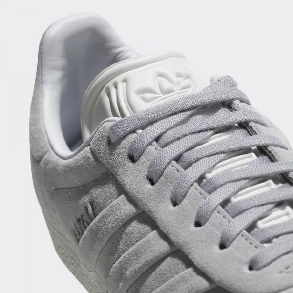 Adidas Originals Shoes Gazelle Stitch And Turn  Woman GREY Tifoshop