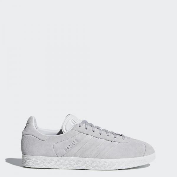 low priced 9ef4b a0dcf Adidas Originals Shoes Gazelle Stitch And Turn Woman GREY ...