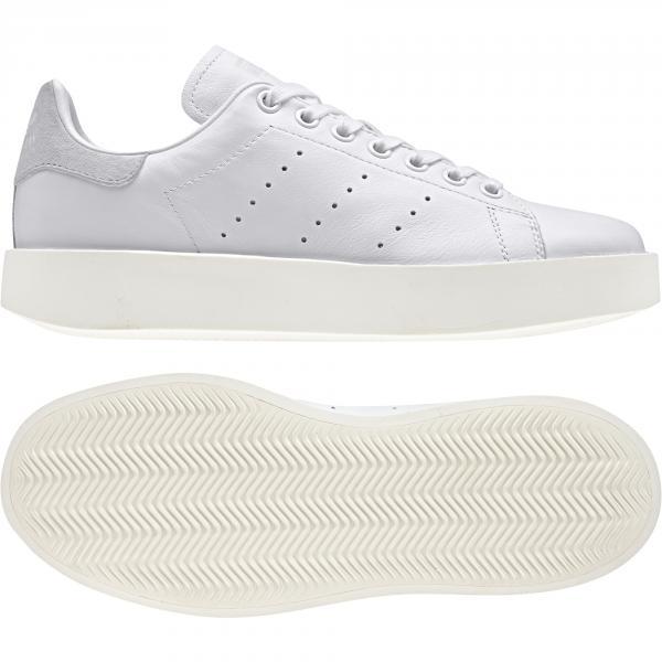Adidas Originals Scarpe Stan Smith Bold  Donna Bianco Tifoshop