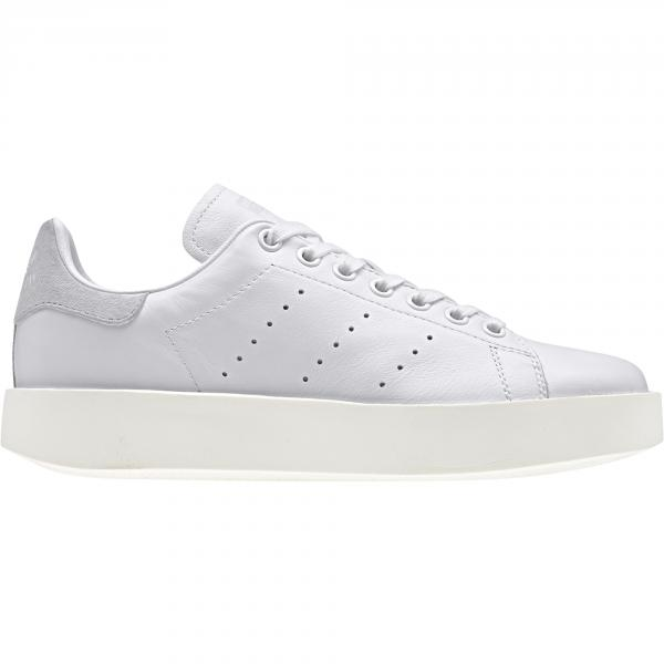 Adidas Originals Schuhe Stan Smith Bold  Damenmode Footwear White