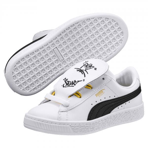 Puma Scarpe Minions Basket Tongue Ps  Junior Bianco Tifoshop