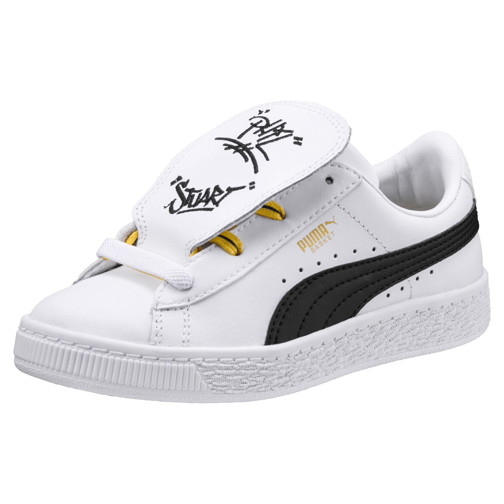 Puma Shoes Minions Basket Tongue PS Junior