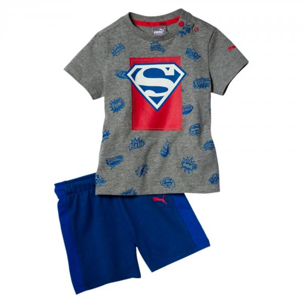 Puma Completo Justice League  Junior Grigio