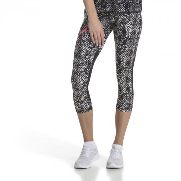 Puma Pantalone Graphic 3/4  Donna Nero Tifoshop