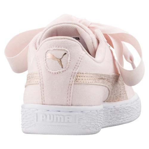 Puma Scarpe Basket Heart Canvas  Donna