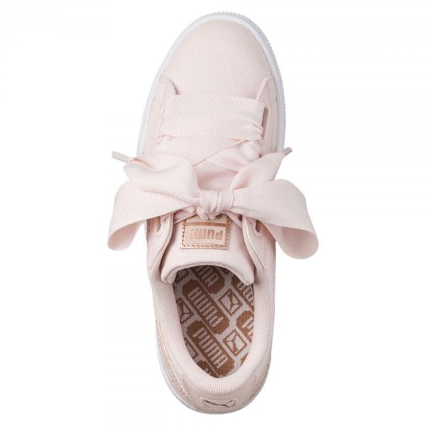 Puma Scarpe Basket Heart Canvas  Donna Perla Tifoshop