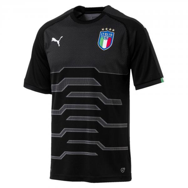 Maglia Junior Replica Portiere Italia Nero FIGC Store