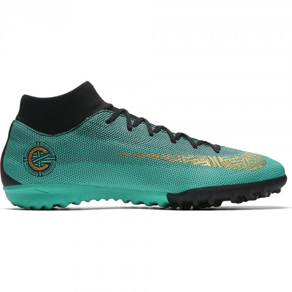 Nike Scarpe Calcetto Cr7 Superflyx 6 Academy Tf Verde