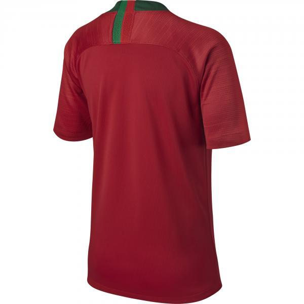Nike Maglia Gara Home Portogallo Junior  18/20 Rosso Tifoshop